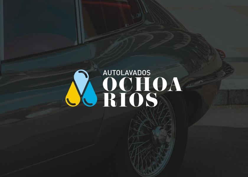 diseño de logo AUTOLAVADOS