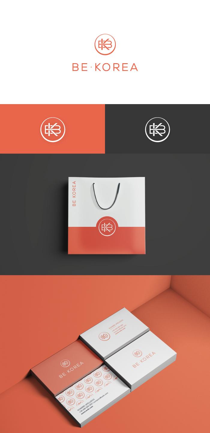 Be Korea presentación logotipo