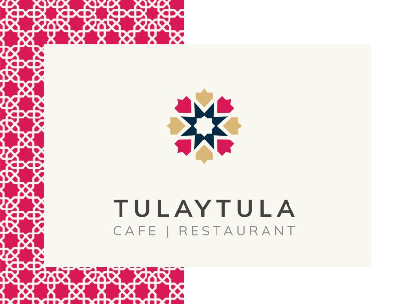 Diseño logo restaurante árabe
