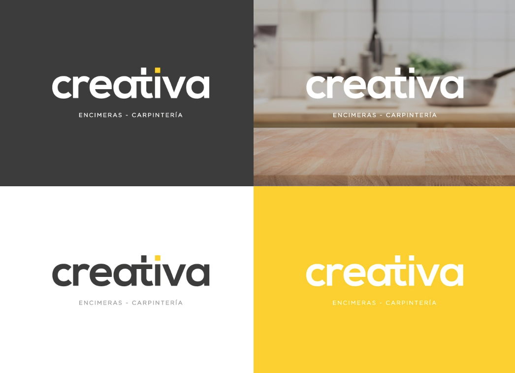 diseño logo encimeras y carpintería