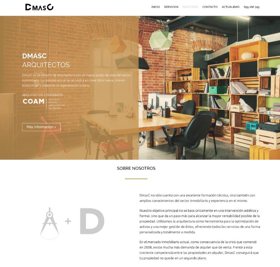 pagina web de arquitectos