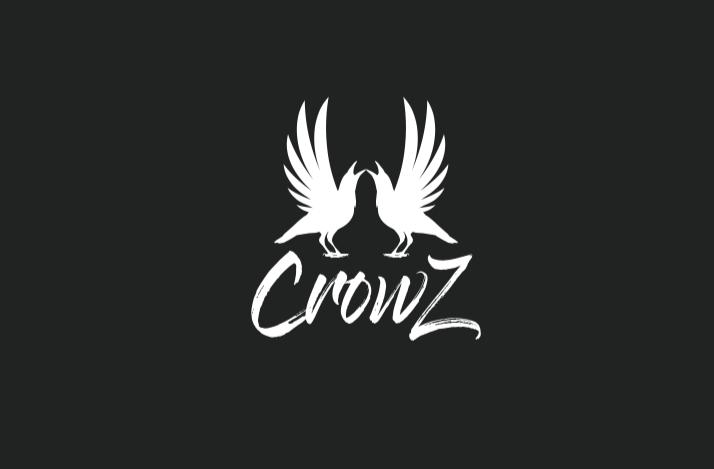 diseño logo cuervos
