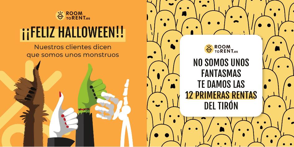 campaña Halloween apartamentos turísticos