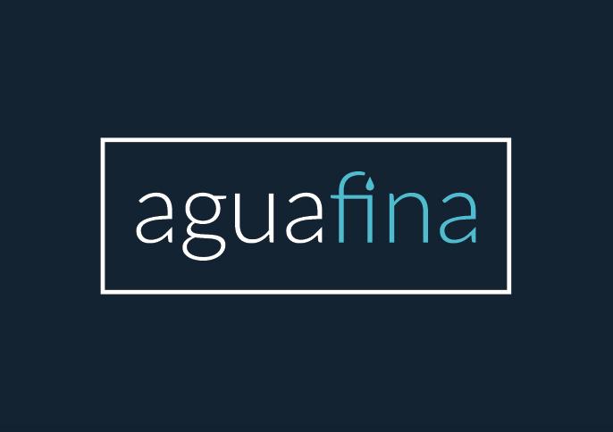 diseño logo agua