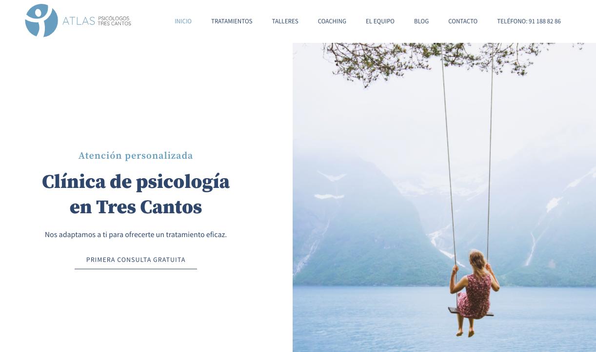 Diseño logo y web psicólogo online