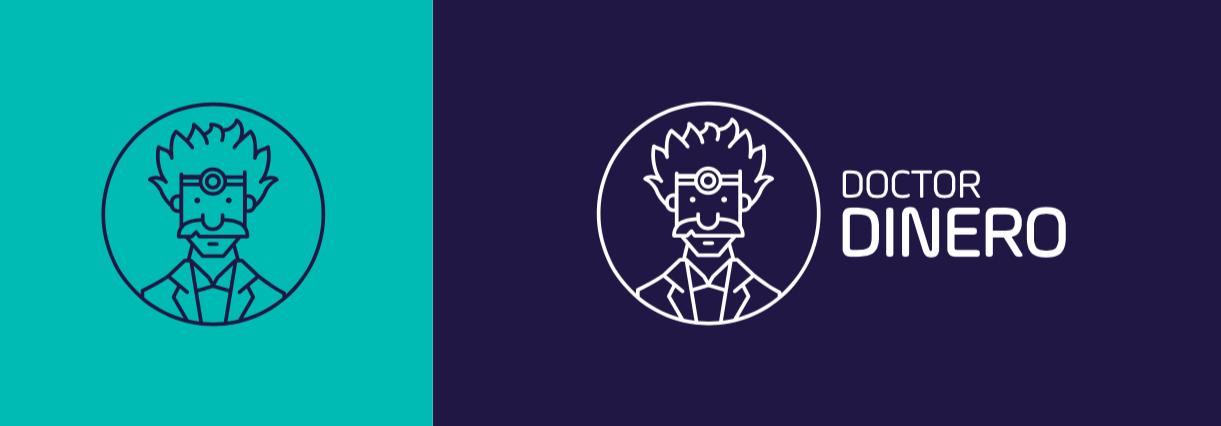 diseño logo salud financiera