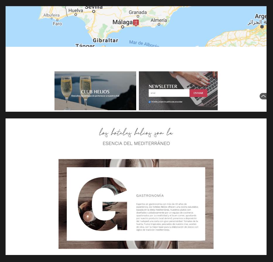 desarrollo de página web turística