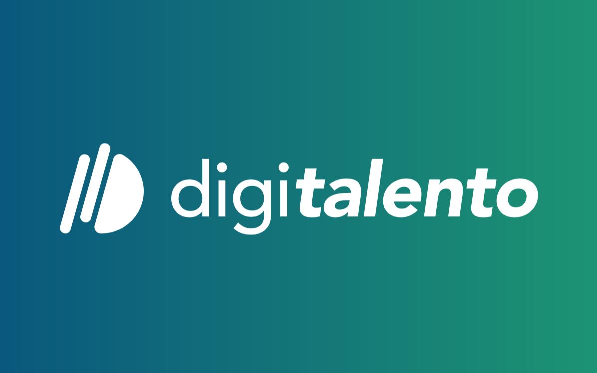 diseño de logo talento digital