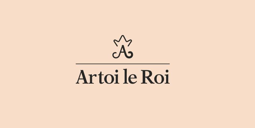 Diseño logo corona marca de lujo