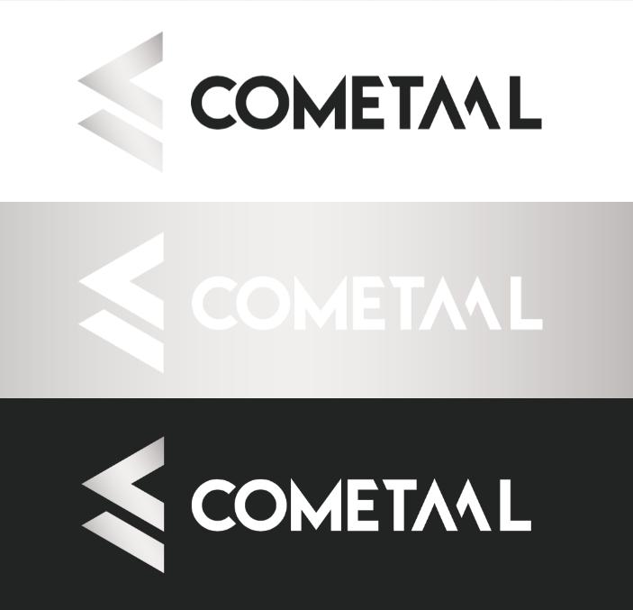 Diseño logo construcciones metálicas y aluminio