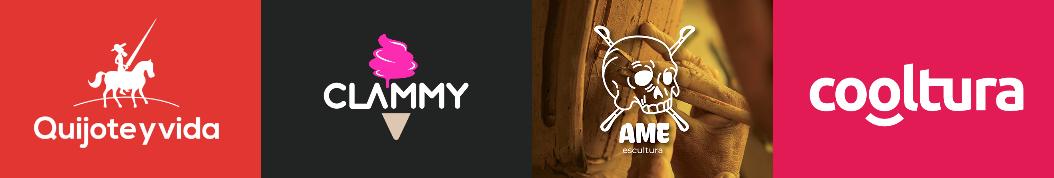 Diseño logos arte y cultura