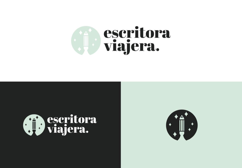 diseño logo travel blogger