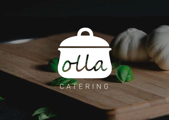 diseño logo olla cocina de la abuela