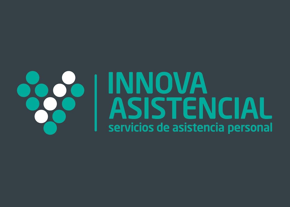 Diseño de logo asistencia de ancianos