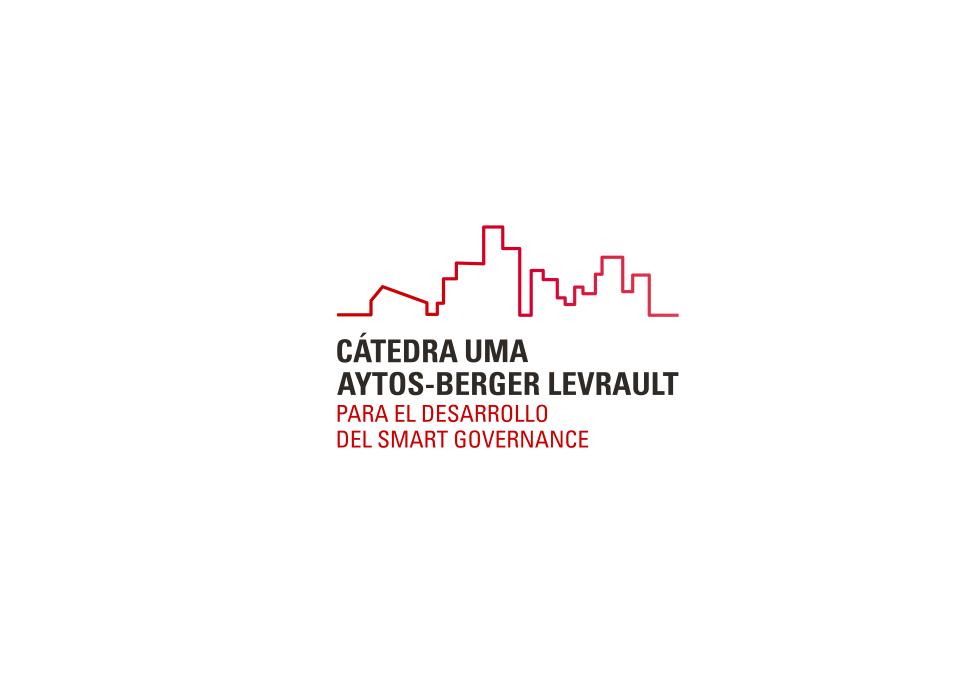 diseño de logo cátedra universidad de Málaga