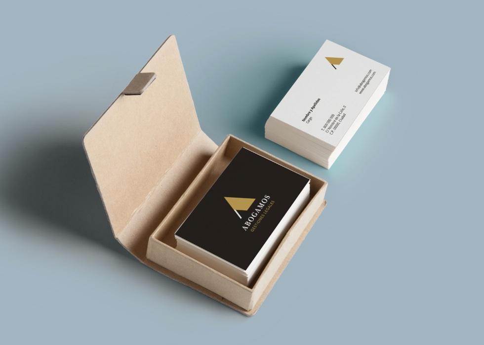 diseños tarjetas abogados Asturias