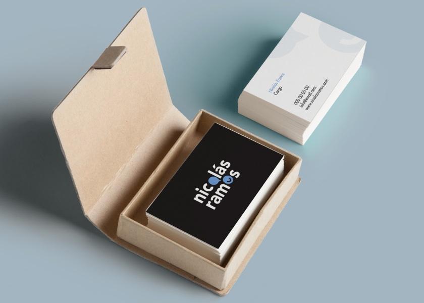 Diseño de tarjetas de presentación coaching
