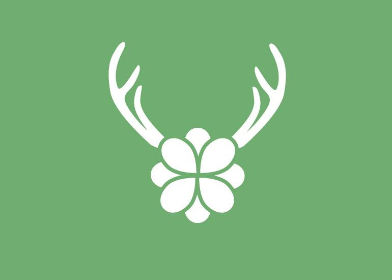 Diseño logo marca relojes ciervo