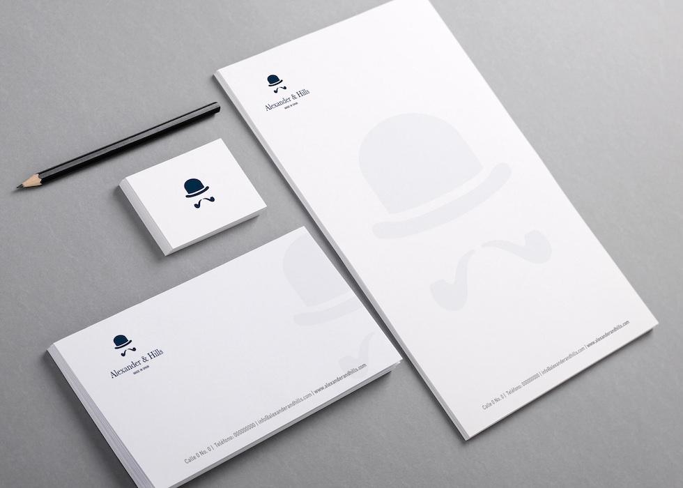 Diseño logo gentleman