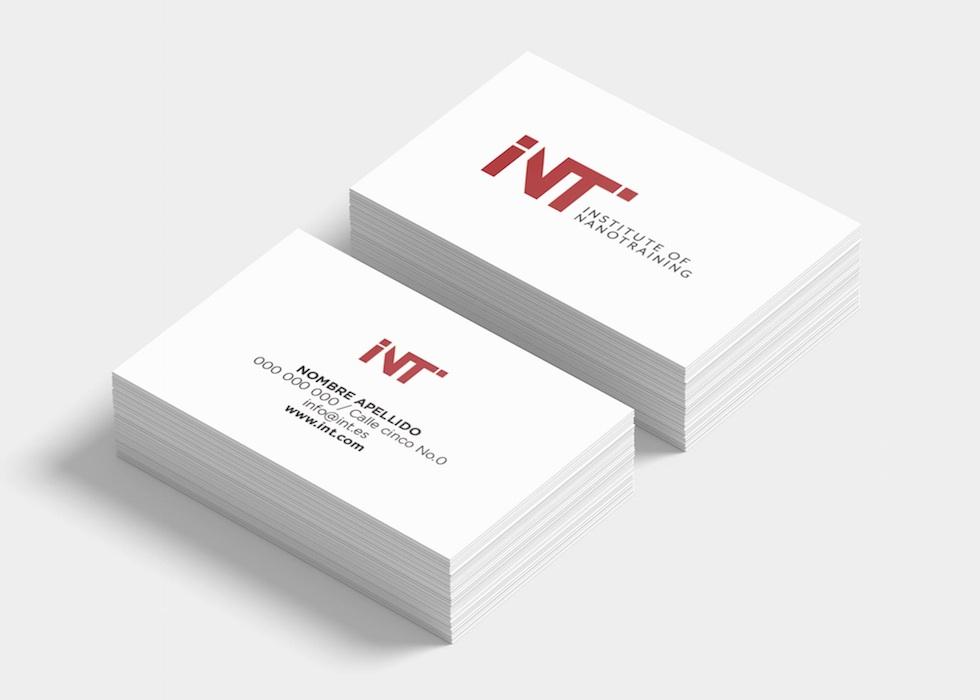 Diseño tarjetas escuela tecnológica