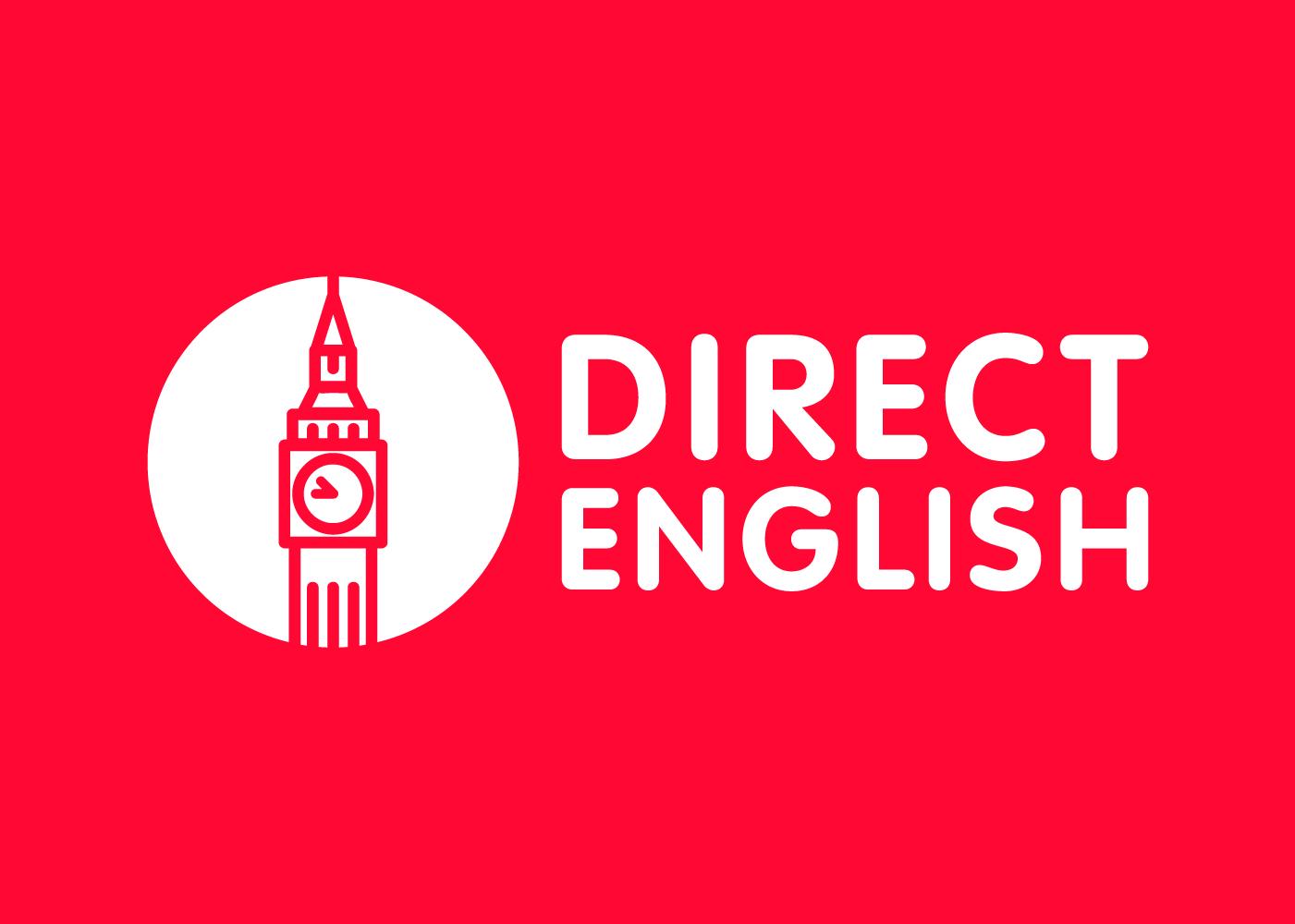 Diseñamos el logo de una academia de inglés cuya imagen asociada es el Big Ben londinense