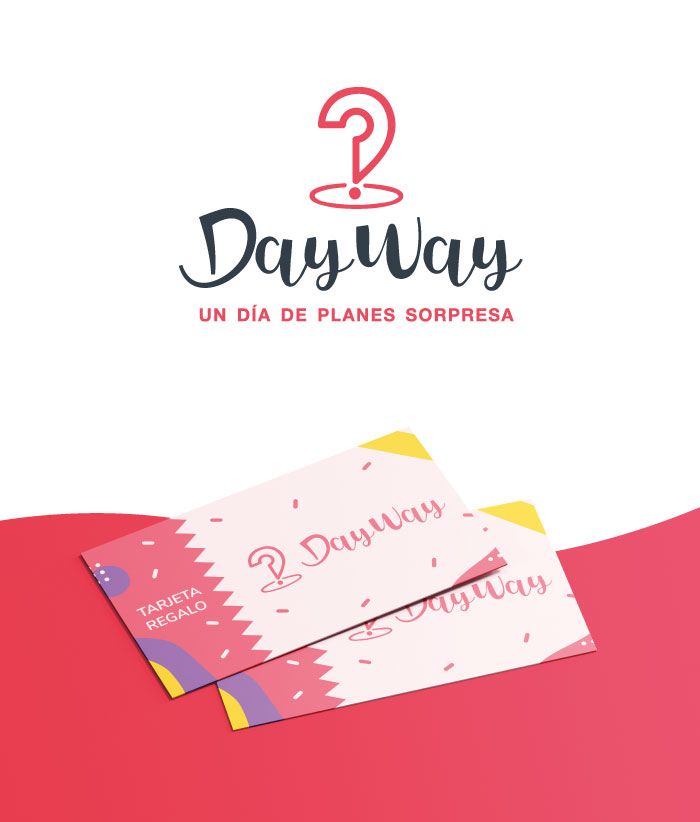 Day Way tarjeta regalo y logotipo