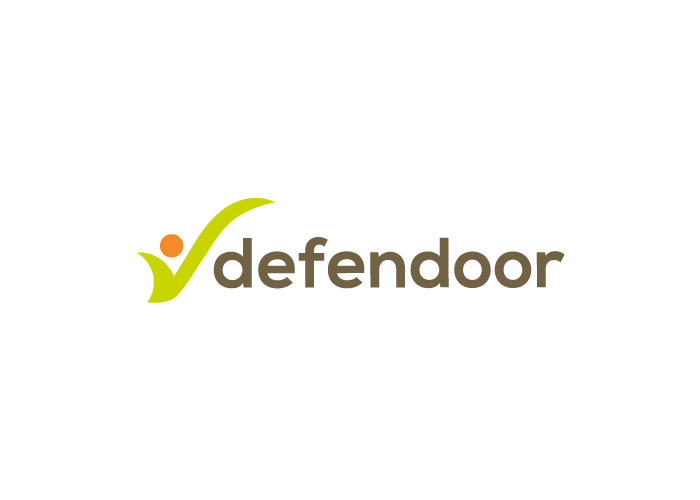 diseño logo defender