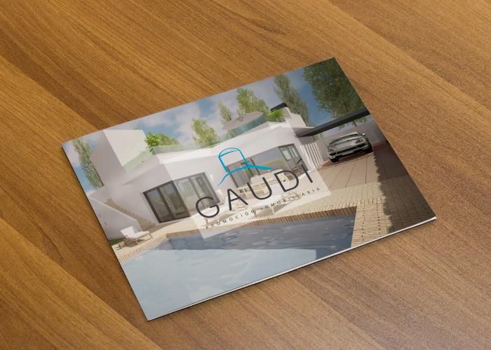 Diseño de dossier para empresa de promoción inmobiliaria
