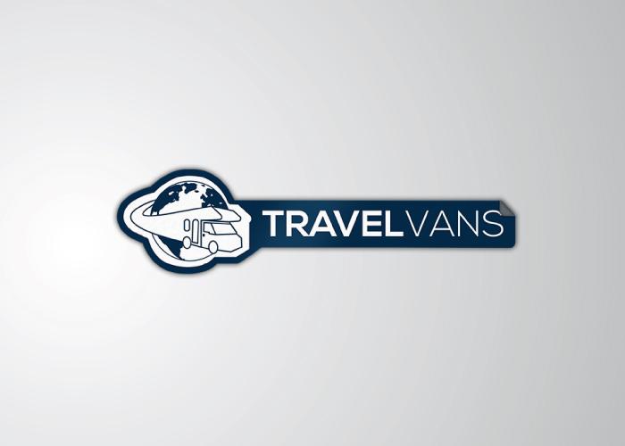 DIseño de logotipo para negocio de alquiler de autocaravanas
