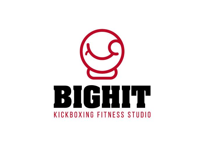 Diseño de logotipo para estudio de kickboxing
