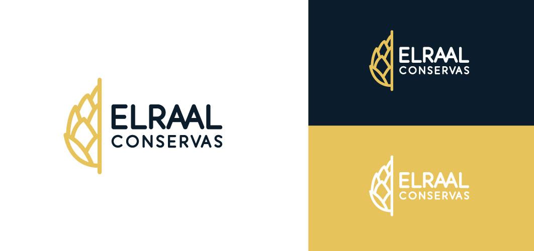ElRaal Conservas Logotipo en colores corporativos