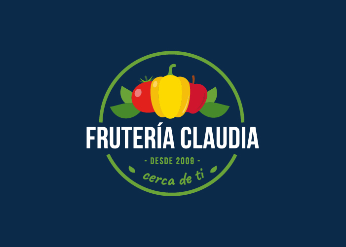 Diseño logo tienda alimentación