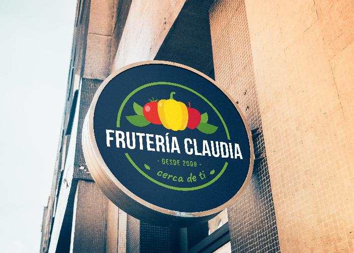Diseño logo Frutas Madrid