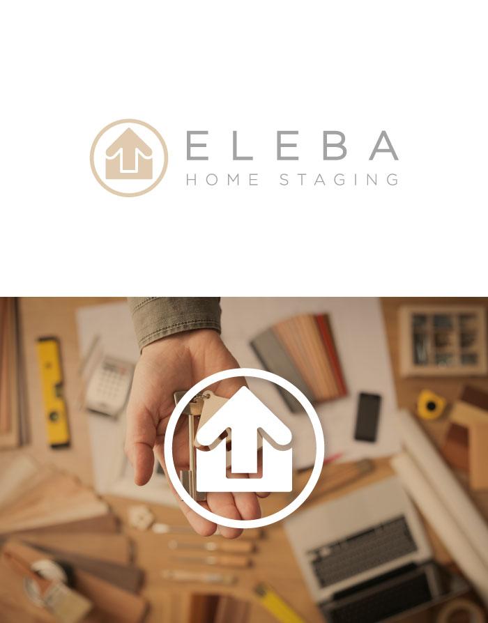 diseño y naming logo decoración inmobiliaria