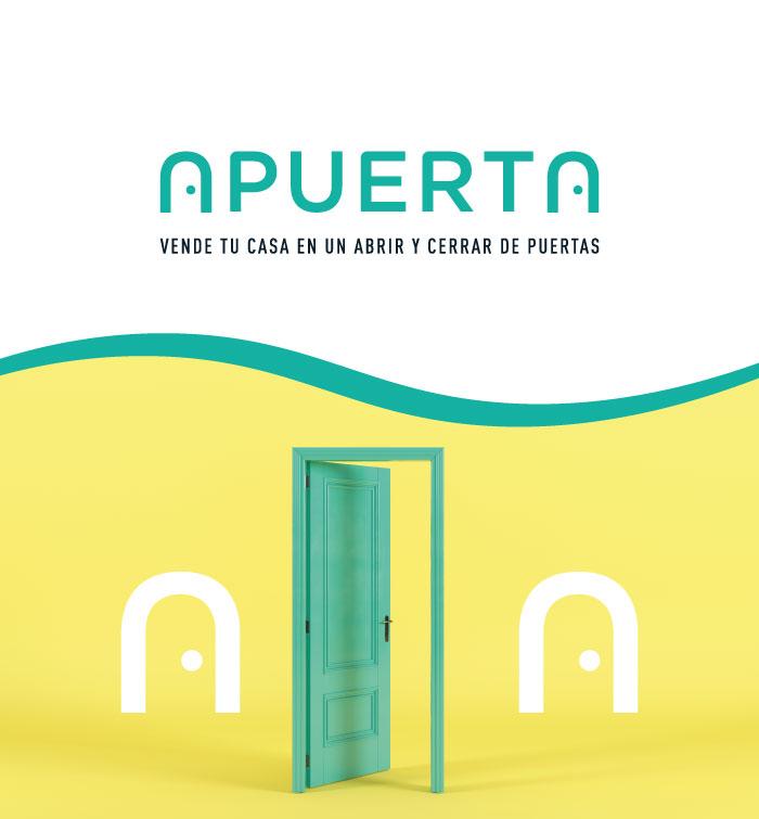 diseño naming inmobiliaria puerta