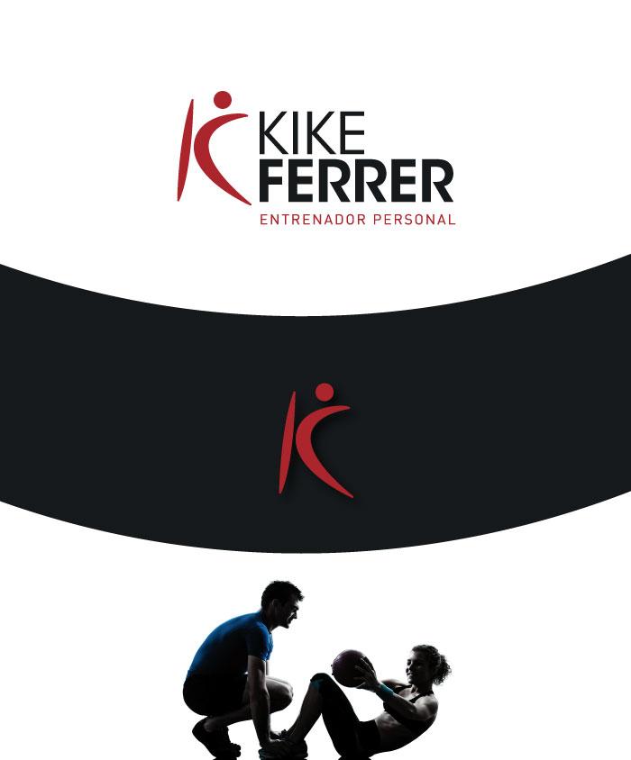 Kike Ferrer logotipo con imagen