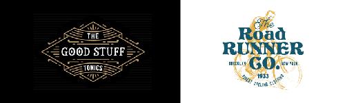 diseño vintage logo hipster