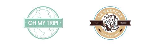 diseño de logo tipo sello