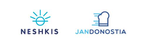 logo sencillo flat design