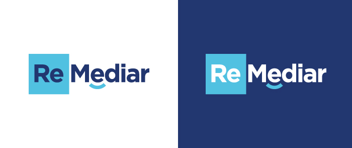 diseño logo remedio legal