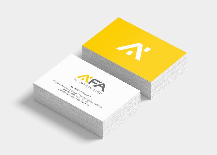 Diseño de tarjeta empresa de reformas