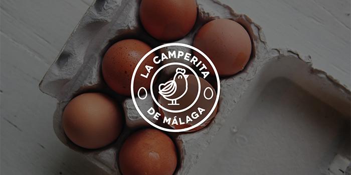 naming y logo huevos camperos