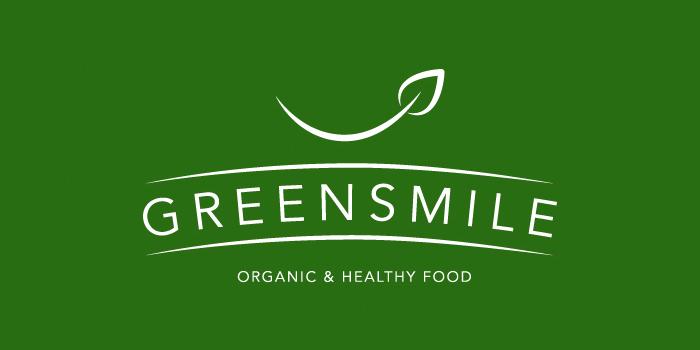 diseño logo sonrisa orgánica