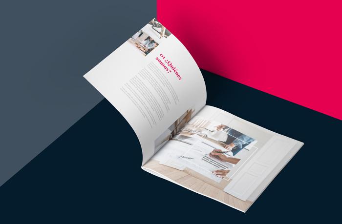 Segunda página del dossier de Ammplio, arquitecto en Madrid