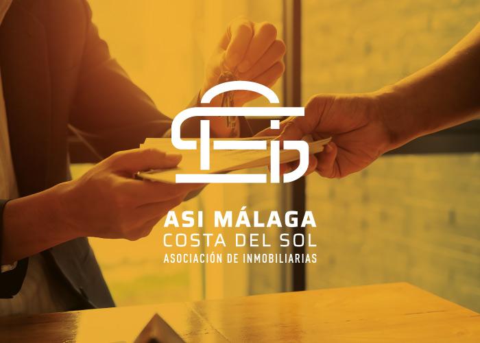 Diseño de logotipo para asociación de inmobiliarias
