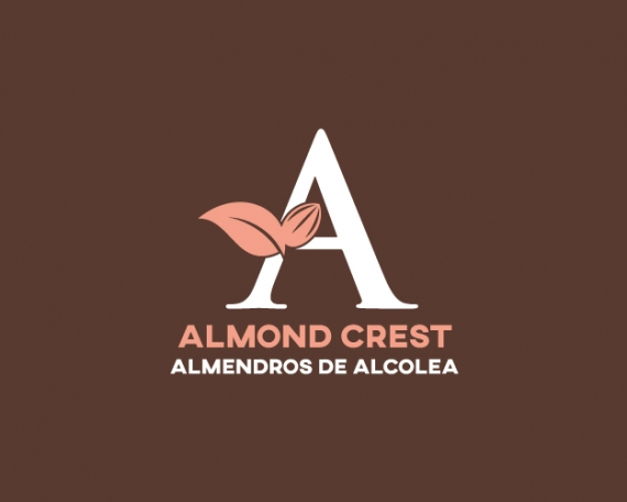 Diseño de logotipo para empresa de cultivo y distribución de frutos secos