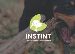 Diseño logo terapias para animales