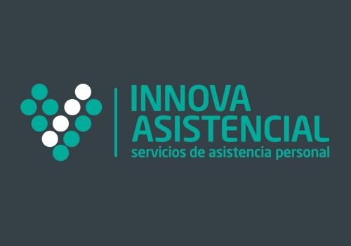Diseño logo asistencia personas mayores y discapacitados