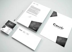 Diseño de identidad corporativa de estudio de arquitectura