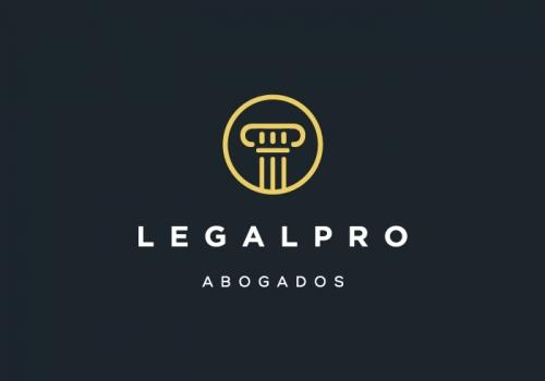 Diseño de logotipo para marca de abogados y asesores